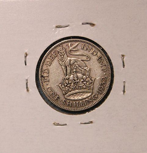 Great Britain 1932 shilling
