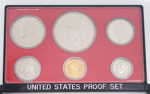 1977 S UNITED STATES US MINT 6 COIN PROOF SET ref#2