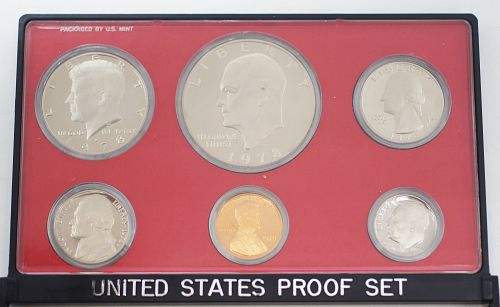 1978 S  United States Proof Set 6 Coins