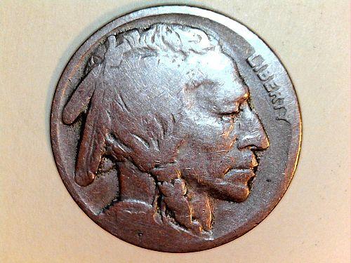 1919 P Buffalo Nickel (price dropped 7/18)