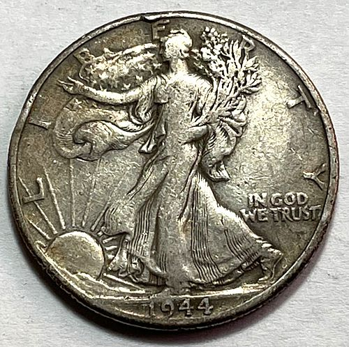 1944 Walking Liberty Half Dollars  11153