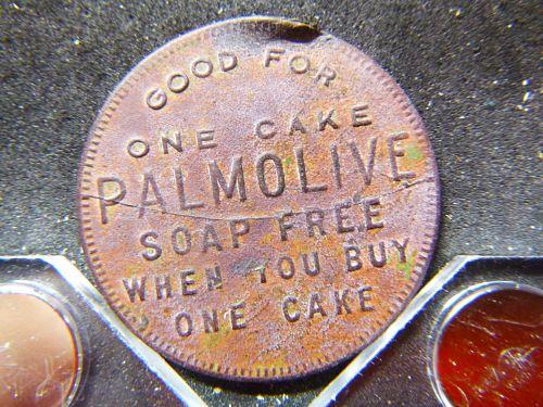 PALMOLIVE SOAP ADVERTISEMENT TOKEN