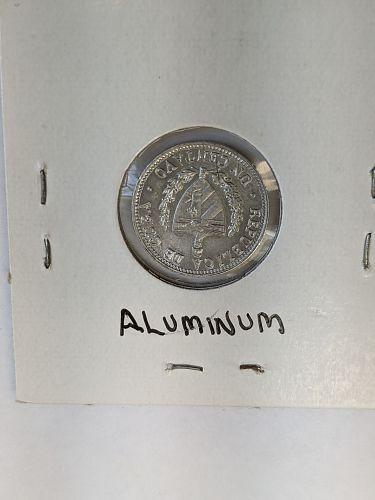 1970 Cuba Centavo coin, Uncirculated