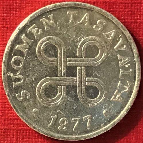Finland - 1977 - 1 Penni [#3]