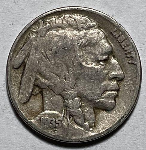1935 Buffalo Nickels Indian Head Nickel. 11231