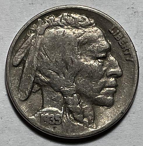 1935 Buffalo Nickels Indian Head Nickel. 11232