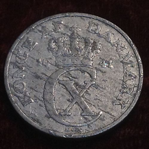 1941 Denmark 5 Ore