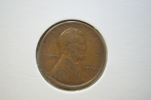 1911 P Lincoln Wheat Cent Small Cents XF