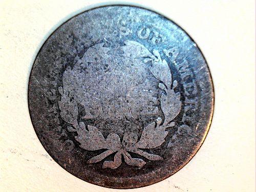 1853 P Seated Liberty Dime