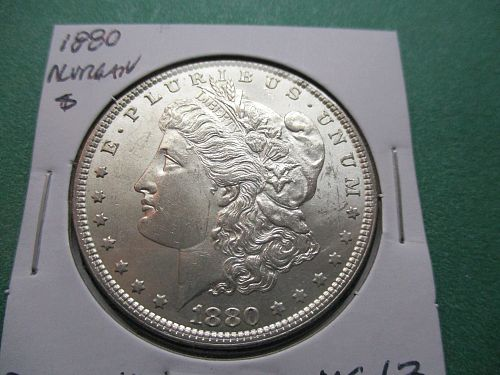 1880  MS63 Morgan Dollar.  Item: DM 80-10.