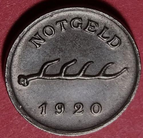 1920 GERMANY - FREUDENSTADT 1 PFENNIG NOTGELD