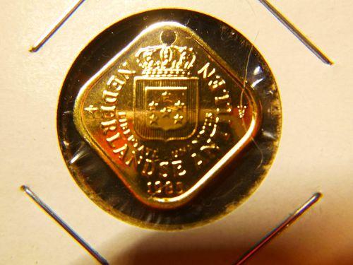 NETHERLANDS ANTILLEN 1985 5 CENT