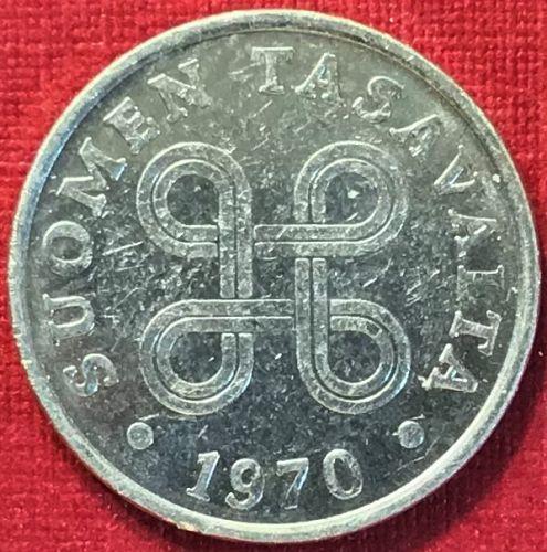 Finland - 1970 - 1 Penni [#2]
