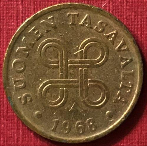 Finland - 1968 - 1 Penni [#2]