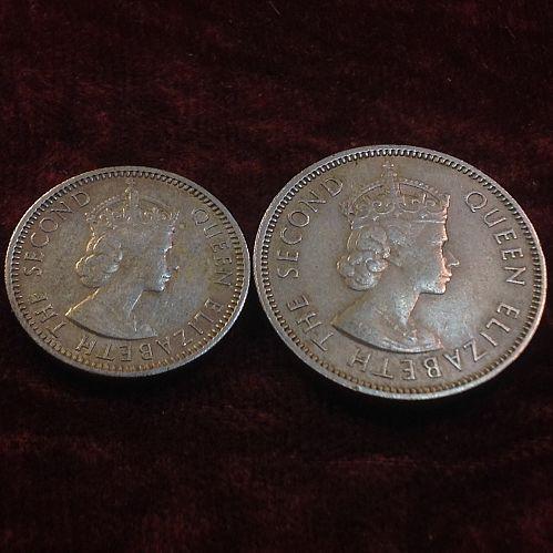 1961 Malaya and British Borneo 10-20 Cents