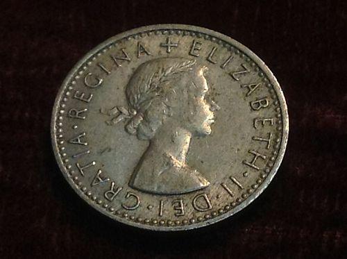 1967 Britain 6 pence
