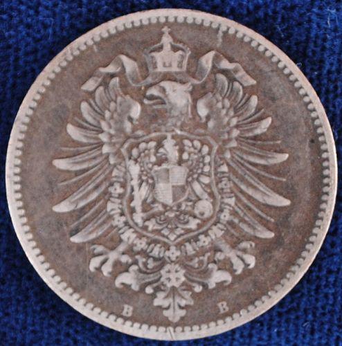 1875B Germany/Empire Mark VF