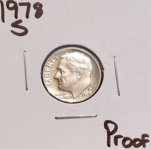 1978 S Roosevelt Dime