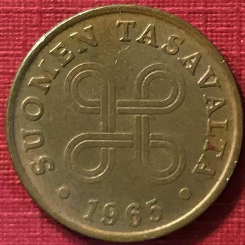 Finland - 1965 - 1 Penni [#2]