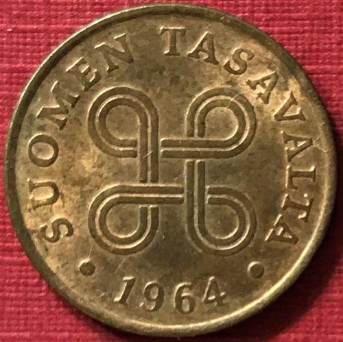 Finland - 1964 - 1 Penni [#3]