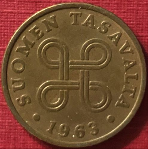 Finland - 1963 - 1 Penni [#1]