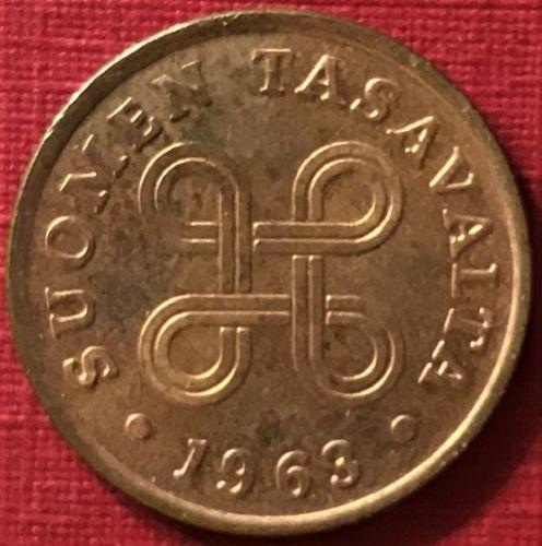 Finland - 1963 - 1 Penni [#3]
