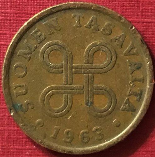 Finland - 1963 - 5 Pennia [#2]