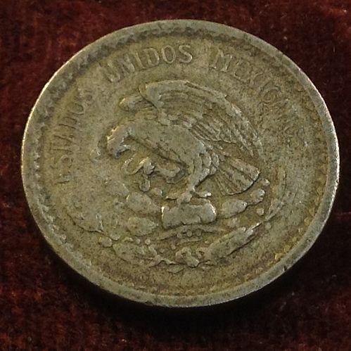 1940 Mexico 5 Centavos