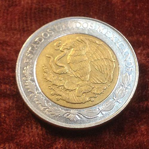 2009 Mexico Bicentennial 5 Peso