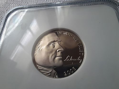 2005-S Bison and 2005-S Ocean View Jefferson 5 cent NGC PR69UC $13.95 w/ free sh