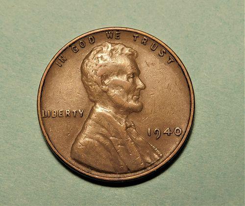 1940 P Lincoln Wheat Cent
