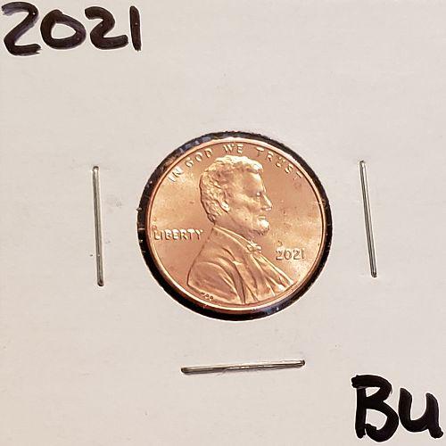 2021  Lincoln Shield Cent