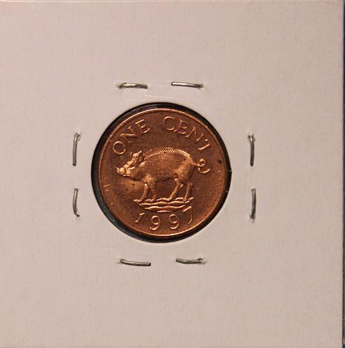 Bermuda 1997 cent