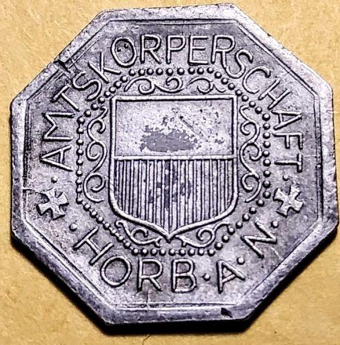 1918 GERMANY - HORB 10 PFENNIG NOTGELD