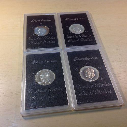 Eisenhower Silver Dollar Collection
