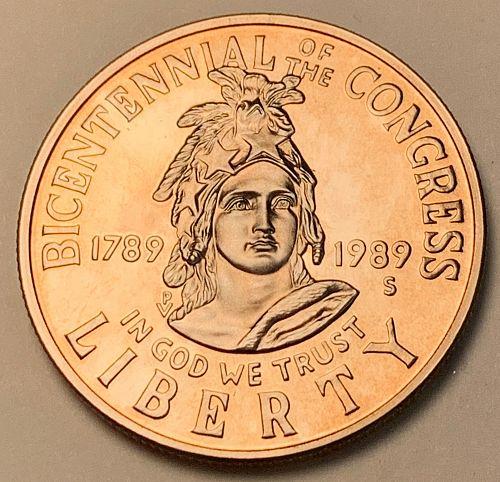 1989-S Proof Congress Commemorative Half Dollar [COM 25]