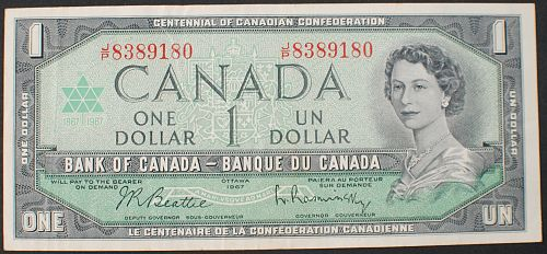 Canada P84b Dollar VF
