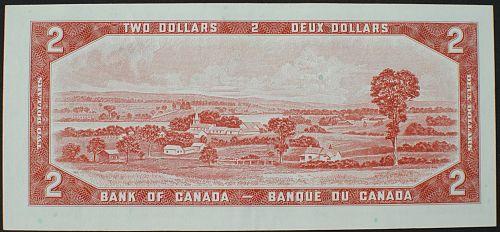 Canada P76c 2 Dollars VF++