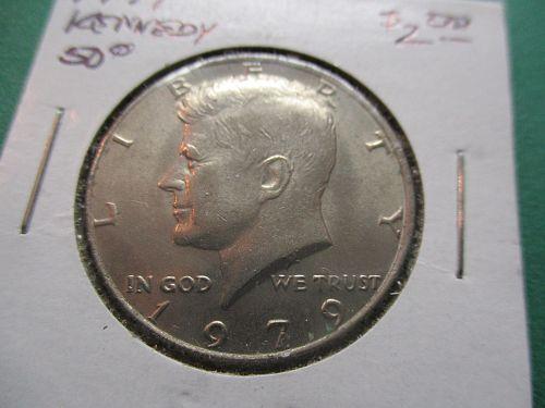 1979  Kennedy Half Dollar.  item: 50 K79-04.
