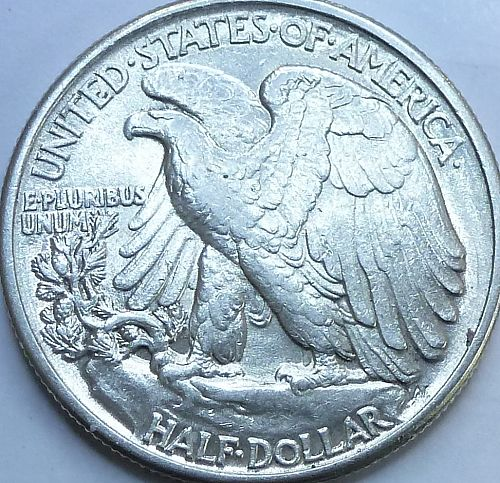 1941 P Walking Liberty Half Dollar in About Uncirculated Grade ( 240-C )