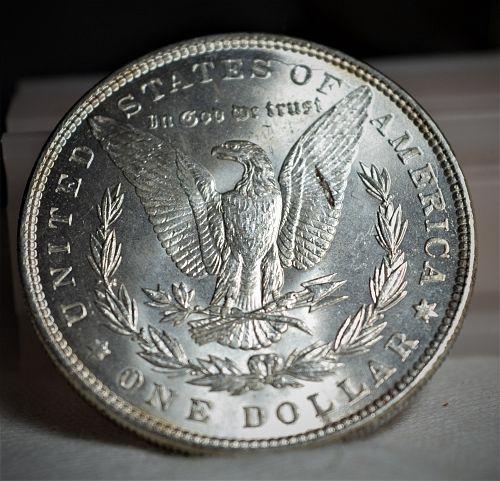 1887 Morgan Silver Dollar - BU