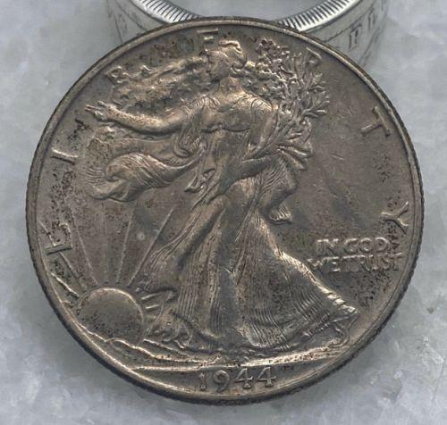 1944 P Walking Liberty US Silver Half Dollar Coin