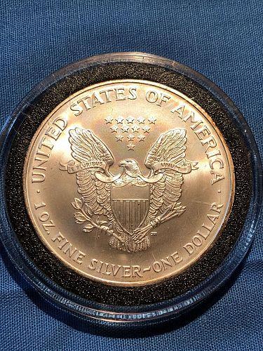 American Eagle Silver $1 2002