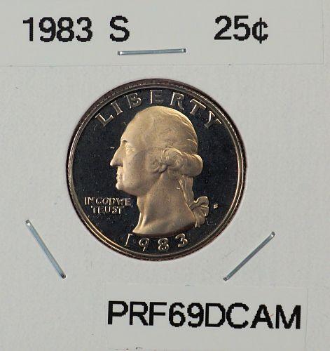 1983 S Washington Quarter ==>Proof<==