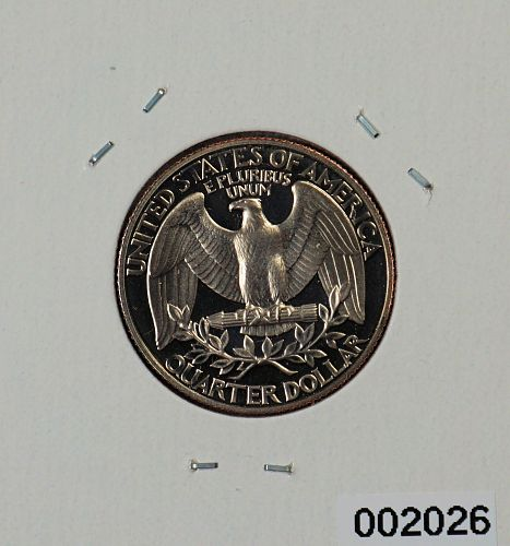1989 S Washington Quarter ---Proof---