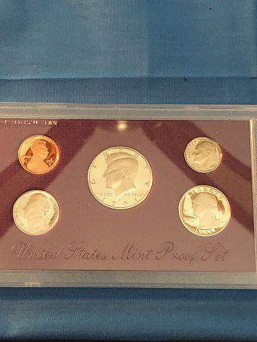 Proof Set; U.S. Mint 1991