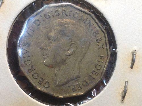 1952 Great Britain 3 Pence