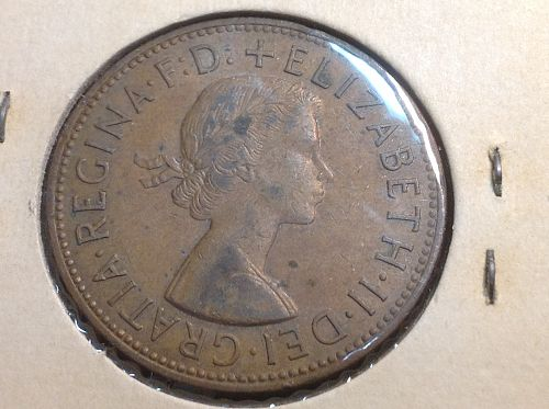 1962 Great Britain 1 Penny