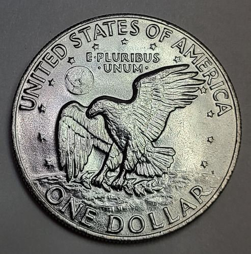 1973 Eisenhower Dollar MS-64 (Near Gem)