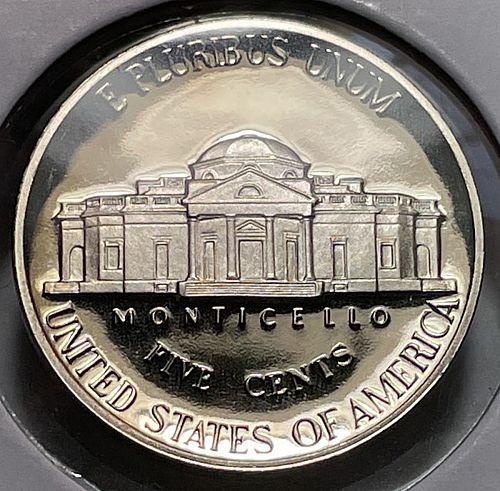 1993 S Jefferson Nickels. 11342